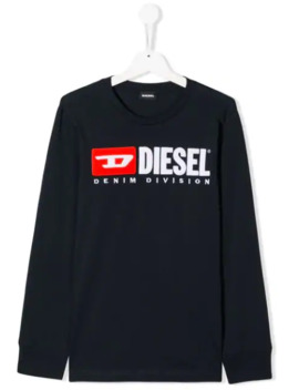 Branded Sweatshirt by Diesel Kids