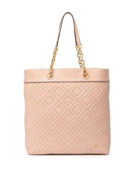 Fleming Leather Tote by Tory Burch