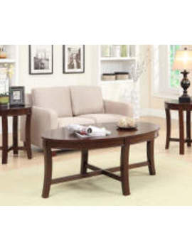 Espresso Wood 3 Piece Occasional Table Set by Espresso Wood 3 Piece Occasional Table Set