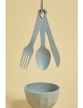 Zuperzozial Bamboo Cutlery Set by Zuperzozial