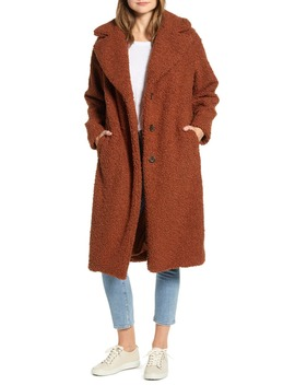 Cozy Up Faux Shearling Coat by Lou & Grey