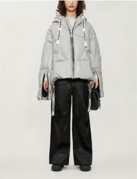 Khris Funnel Neck Shell Down Jacket by Khrisjoy