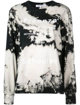 Pswl Bleach Splatter T Shirt by Proenza Schouler