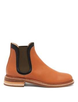 Carlos Colour Block Leather Chelsea Boots by Gabriela Hearst