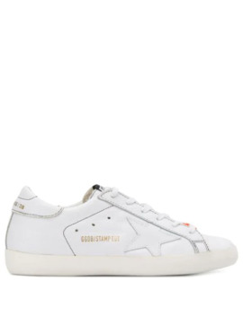 Superstar Embossed Logo Sneakers by Golden Goose