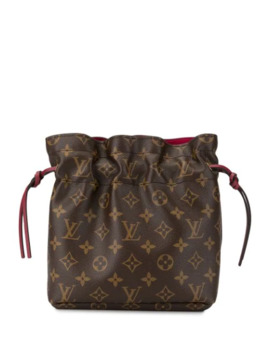 Noe Drawstring Pouch Bag by Louis Vuitton Pre Owned
