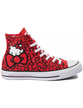 Converse Chuck Taylor All Star Hi Hello Kitty Bows by Stock X