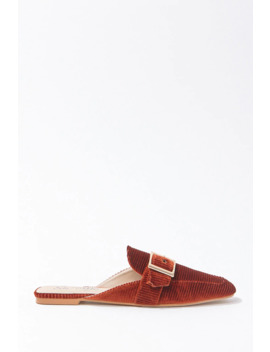 Corduroy Slip On Loafers by Forever 21