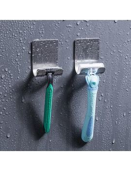 Good Living   Stainless Steel Razor Adhesive Wall Hook by Good Living