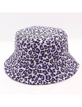 2019 Leopard Print Bucket Hat Fisherman Hat Outdoor Travel Hat Sun Cap Hats For Men And Women 280 by Ali Express.Com