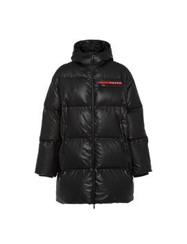 Lr Hx016 Nylon Puffer Coat by Prada