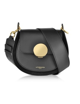 Yucca Suede And Leather Shoulder Bag by Le Parmentier