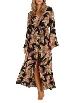 Valletta Long Sleeve Maxi Dress by Billabong