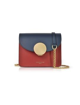New Ondina Mini Color Block Shoulder Bag by Le Parmentier