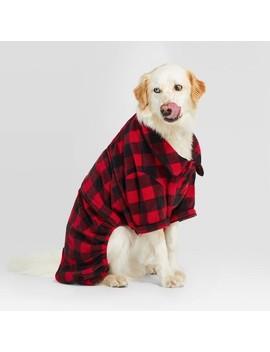 Holiday Buffalo Check Cat & Dog Pajamas   Wondershop™ Red by Shop Collections