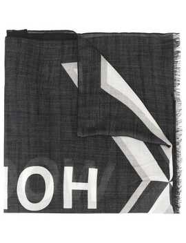 Logo Print Scarf by Undercover