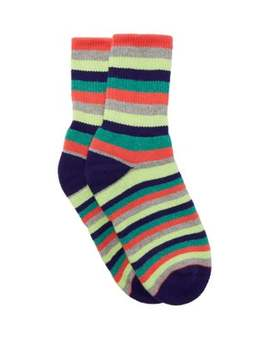 Striped Cashmere Socks by The Elder Statesman
