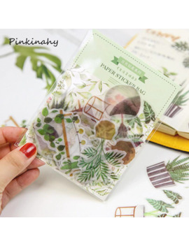 40 50 Pcs Creative Daily Life Green Plants Cats Memo Pad Planner Sticky Note Paper Sticker Kawaii Stationery Pepalaria Office by Ali Express.Com