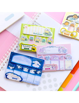 90 Pages /Pack Cute Frog Dog Melody Twin Stars Sticky Notes Memo Pads School Office Supply Stationery by Ali Express.Com