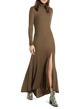 Chels Front Slit Long Sleeve Maxi Dress by Ag