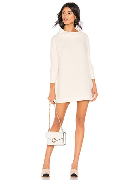 Ottoman Slouchy Tunic Sweater Dress In Ivory by Free People