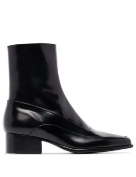 Square Toe 50mm Ankle Boots by Y/Project