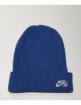 Nike Sb Fisherman Blue Beanie by Zumiez