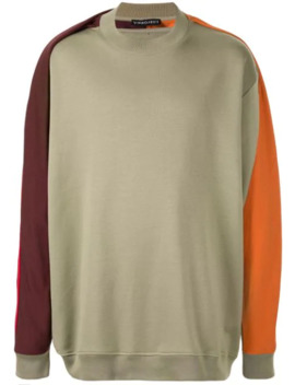 Contrasting Sleeve Sweatshirt by Y/Project