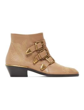 Beige Susanna Boots by ChloÉ