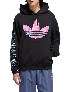 Watercolor Hooded Sweatshirt by Adidas Originals