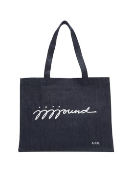 Indigo Jjj Jound Edition Shopping Tote by A.P.C.