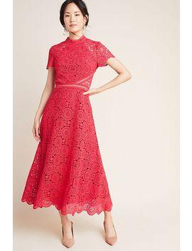 Ml Monique Lhuillier Luisa Lace Maxi Dress by Ml Monique Lhuillier
