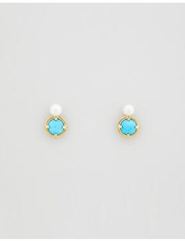 Roma Stud Earrings by Peter Lang