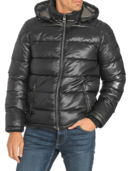 Hooded Puffer Jacket by Guess