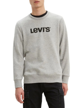 Graphic Cotton Blend Sweatshirt by Levi's