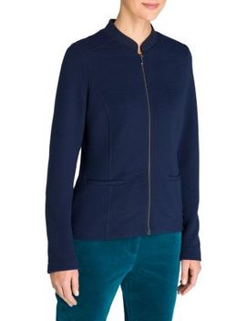 Nordic Light Jersey Zip Jacket by Olsen