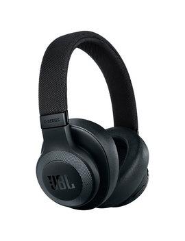 Jbl E65 Btnc Over Ear Noise Cancelling Bluetooth Headphones   Black by Best Buy