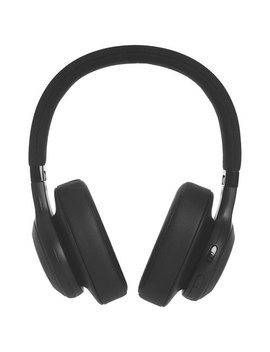 Jbl Over Ear Wireless Headphones With Mic (Jble55 Btblk)   Black by Best Buy