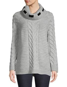Cowl Neck Sweater by Karl Lagerfeld Paris