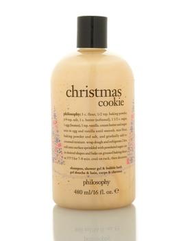 Christmas Cookie Shampoo, Shower Gel & Bubble Bath by Philosophy
