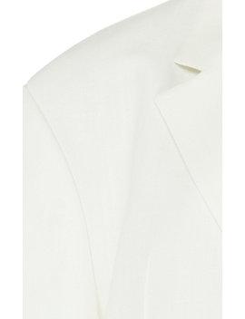 La Veste D'homme Oversized Twill Blazer by Jacquemus