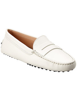Tod's Gommino Leather Loafer by Tod's