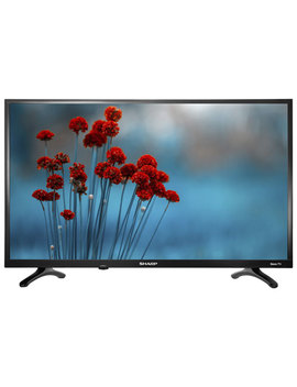 """Sharp 32"""" 720p Hd Led Roku Os Smart Tv (Lc 32 Lb601 C)   Black Glossy   Only At Best Buy by Best Buy"""