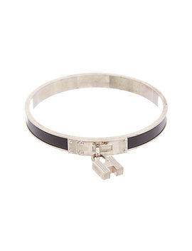 Hermès Palladium Plated Kelly Bangle by Hermes