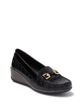 Arethea Bit Wedge Loafer by Geox