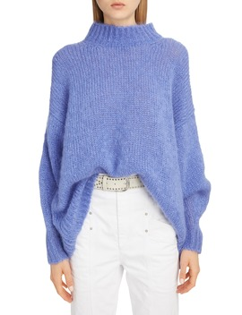 Long Mohair Blend Sweater by Isabel Marant
