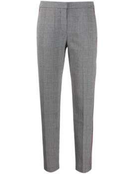 Checked Slim Fit Trousers by Tommy Hilfiger
