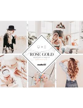 Mobile Lightroom Preset, Bloggers Lightroom Preset, Mobile &Amp; Desktop Preset, Best Instagram Preset, Best Lightroom Preset, Rose Gold Preset by Etsy