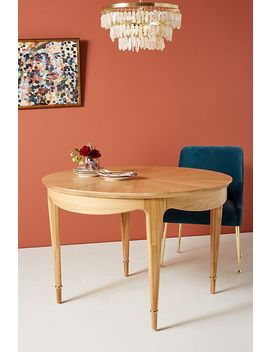 Starburst Marquetry Dining Table by Anthropologie