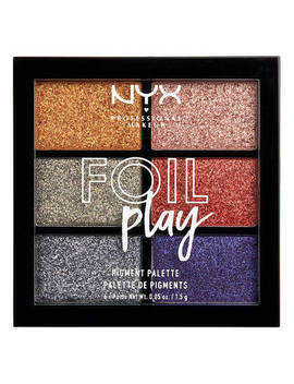 Foil Play Pigment Palette by Nyx Cosmetics